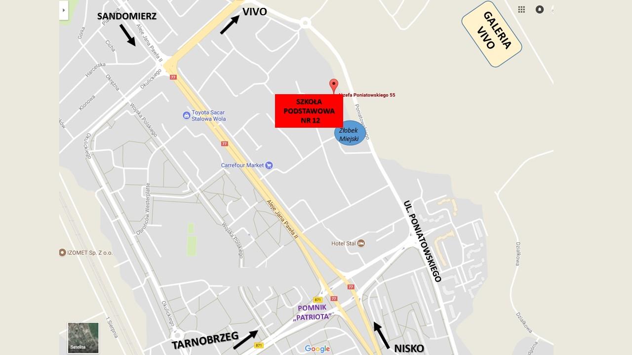 Mapa Sp Nr 121 Psm I I Ii St W Stalowej Woli