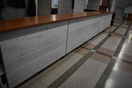 Noworoczne remonty-szatnia i korytarze szkolne