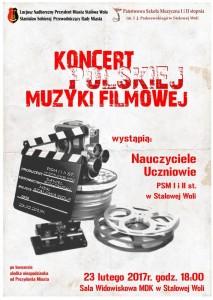 Koncert Polskiej Muzyki Filmowej 23.02.2017