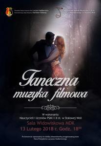 Taneczna Muzyka Filmowa 13.02.2018 r.