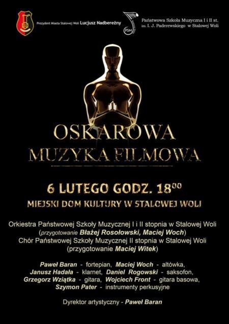Muzyka Oskarowa - 6 lutego 2019r.