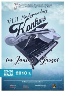 VIII Międzynarodowy Konkurs im. Janiny Garści